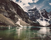 RESERVED for Nichole: MASSIVE photography print, Canada Rocky Mountains landscape, 32X48