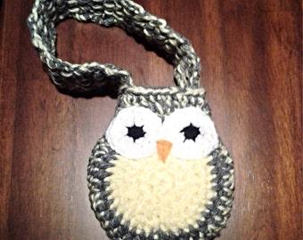 Double Strand Little Owl Purse