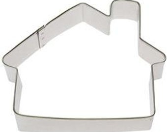 """House Cabin 4"""" Cookie Cutter"""
