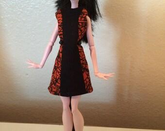 Retro Halloween Dress for Monster High