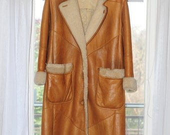 Gorgeous Shearling Sheepskin Coat