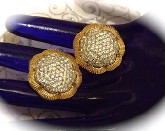 signed nettie rosenstein  earrings