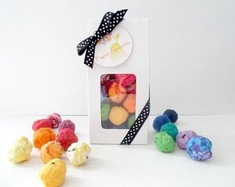 Seed Bomb Gift Set - Unique Gift for Gardener, Teacher and Hostess Gift - Stocking Stuffer