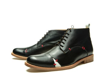 DERBY&STITCH - men ankle boots