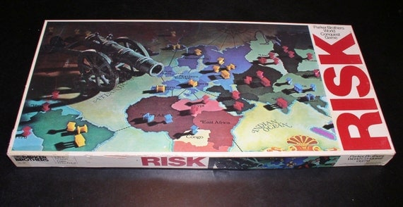 risk instructions parker brothers