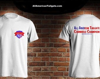 All American Cornhole Champion T - Shirts