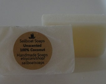 Unscented Coconut Soap