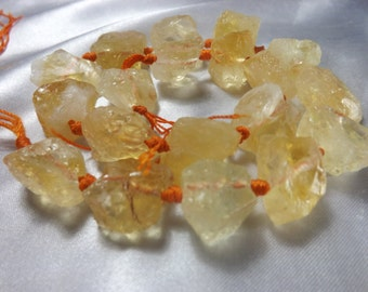 Citrine Natural Rough Nuggets CT1