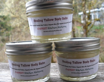 Healing Tallow Balm for Pets and People, Tallow Balm for Pets, Tallow Balm for People, Tallow Balm for Pet conditions
