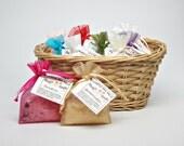 Bath Soak Sample- Sea Salt Wedding Favor- Party Favor- 1 oz