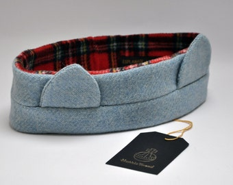 HARRIS TWEED headband / earmuffs / ear warmer - Cat Ear Collection