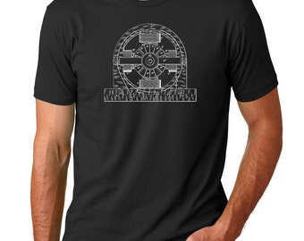 Electric Magnetic Motor Patent T Shirt PP0530