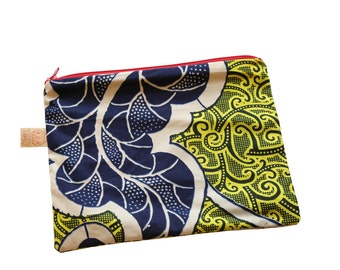 African prints clutch bag