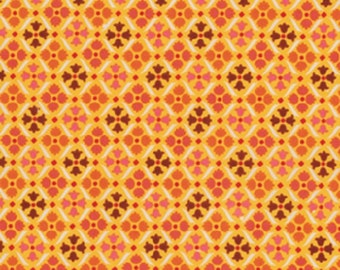 Flea Market Fancy Legacy Collection - Medallion by Denyse Schmidt for Free Spirit Fabrics, 1/2 yard, PWDS020-Red