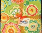 """Dori Layer Cake - (42) 10"""" X 10"""" Squares - Contemporary Cotton Quilt Fabrics - by Mitzi Powers for Benartex Fabrics - (W2378)"""
