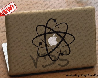 MAC MACBOOK Laptop Vinyl Decal Sticker Atomic