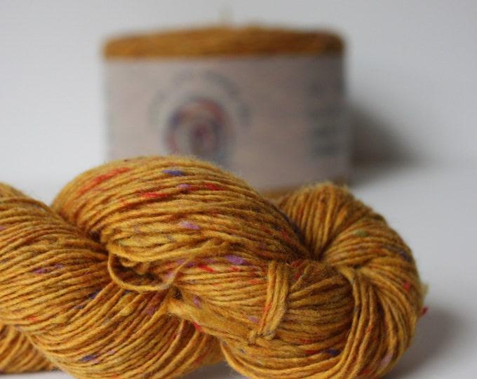 Spinning Yarns Weaving Tales - Tirchonaill 568 Carnival Yellow 100% Merino for Knitting, Crochet, Warp & Weft