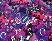 Pretty in Paisley Headband - Purple (JMT Hikers)