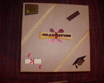 A sturdy tan Treasure/Memory box for the Graduate