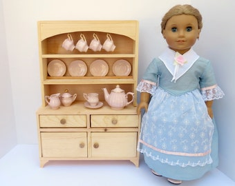 DOLL SIDEBOARD with HUTCH for 18-inch dolls, American Girl ®