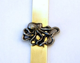 Octopus Letter Opener (paper knife), Handmade, Gift Boxed (h)