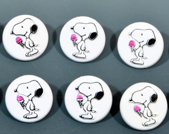 Snoopy Buttons - 10