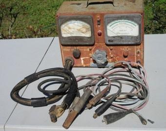 Vintage,Sun Electric Corporation,Volt-Ampere Tester,Model VAT-28,DC Volts 6-12,Chicago, Illinois,