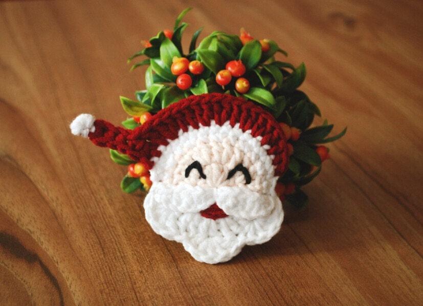 Snap Golfing Santa Clause Handmade Christmas By Thepaintedpeepshow