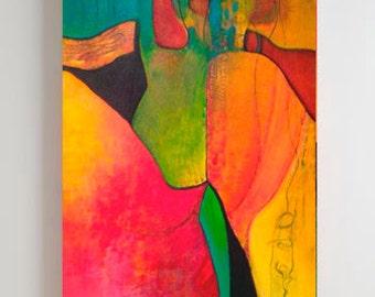 Original Abstract Painting, Original Art, Handmade Art, Abstract Art, Modern Art, Canvass Art, Fine Art, 29x30, Small Paintings