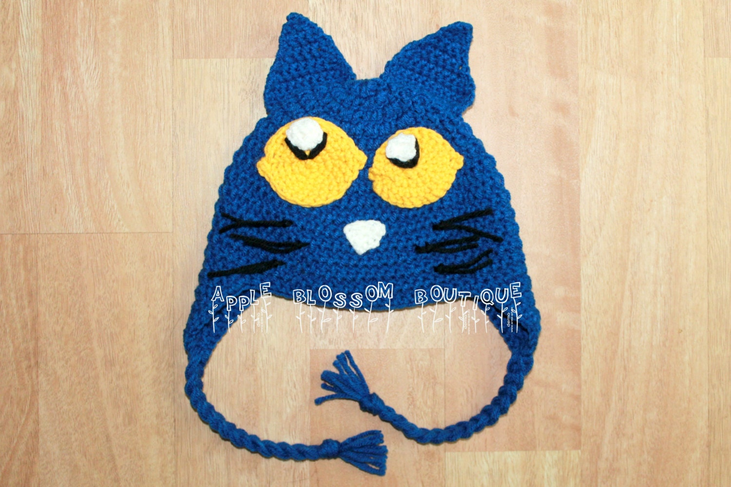 Crochet Pete the Cat Hat Pete the Cat Inspired by ...