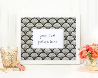 items similar to 8 x 10 black shabby chic frame with