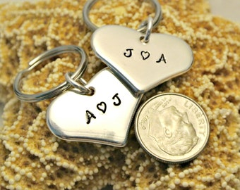 Personalized Sterling Silver Key Chain