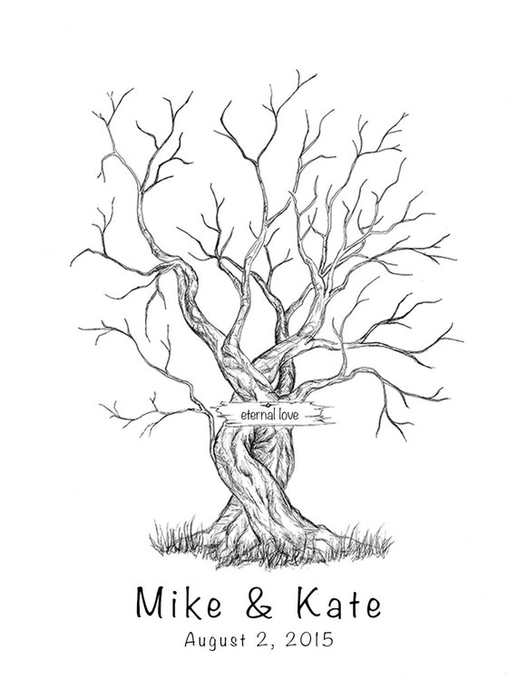 Wedding Leaves Tree Template Family Tree Visualbrainsfo