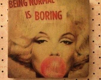 Maryln Monroe ~ Coaster