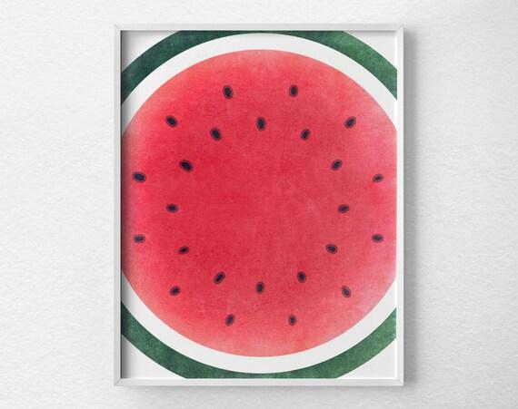 kitchen print watermelon fruit kitchen print watermelon