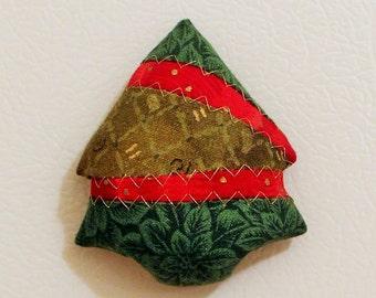 Christmas Tree Fabric Magnets