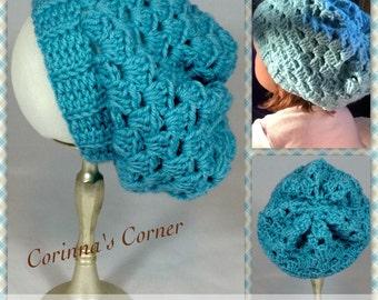 Mini Crochet Slouch Hat Toddler, Child, Teen, Adult