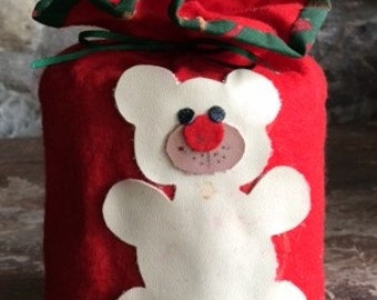Christmas Toilet Paper Roll Cover