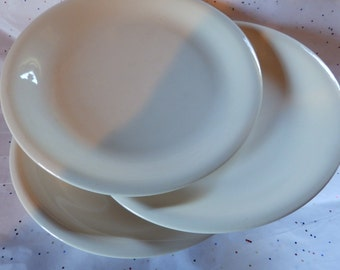 White plate for painting