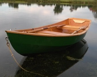 11.5' skiff, row, power, sail