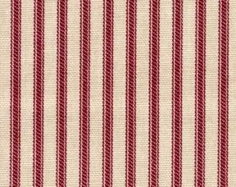 Ticking - Red Stripe - 1/2yd