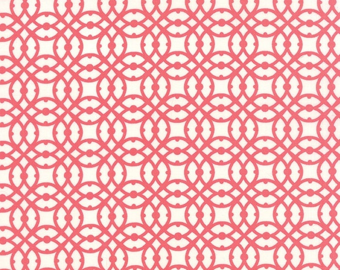 Paradiso by Kate Spain - Destination Coral Pink - 1/2yd