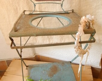 Antique french toilet table, vintage toy
