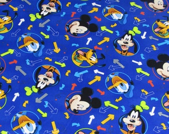 Disney Fabric Mickey Fabric Head Toss Arrows From Springs Creative