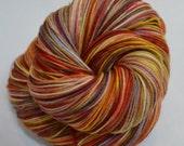 Hand Dyed Sock Yarn, Hand Dyed Fingering Yarn, Hand Dyed Yarn -  Grand Canyon on Wonder