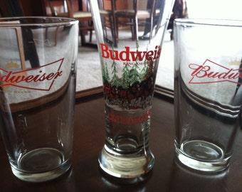 Budweiser Glasses