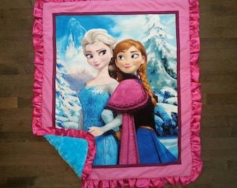 Disney Frozen Minky Blanket