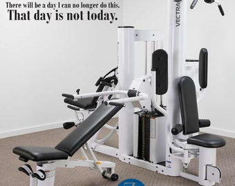 Workout, workout decal, workout quotes, gym decor, gym decal, exercise, gym art, gym wall decal, wall decal, Inspirational quote, D00268.