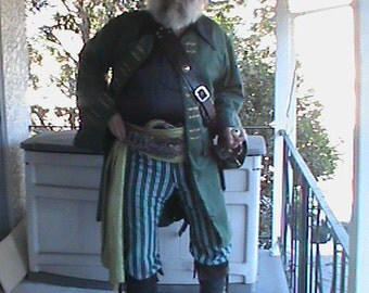 Custom Made Medieval Renaissance Mens Pirate Jacket