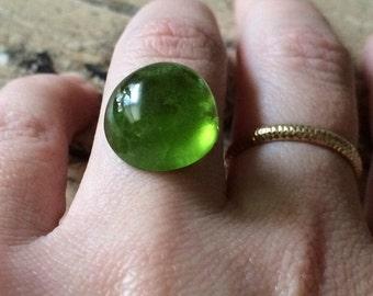 18 ct Rare cabochon Cut Green Huge Natural Peridot Gemstones. Rare Size.